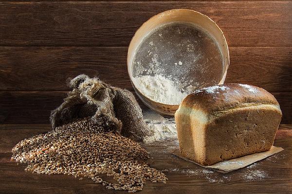 Pan semillas y harinas