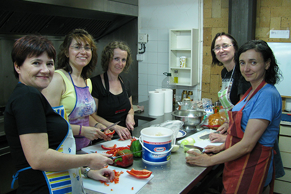 Cocineras voluntarias