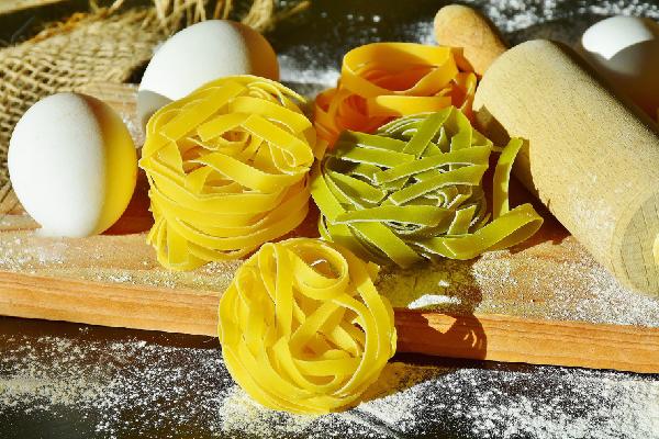Pastas elaboradas con huevo