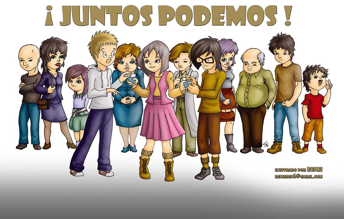 ¡Juntos Podemos!