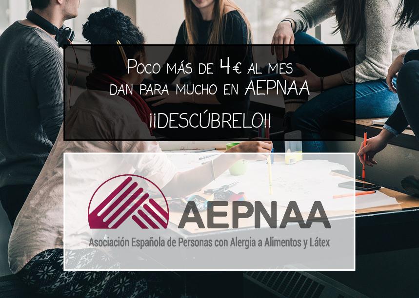 Poco más de 4€ al mes dan para mucho en AEPNAA. Descúbrelo