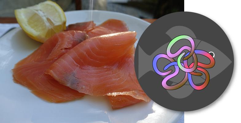 Parásito Anisakis presente en el pescado