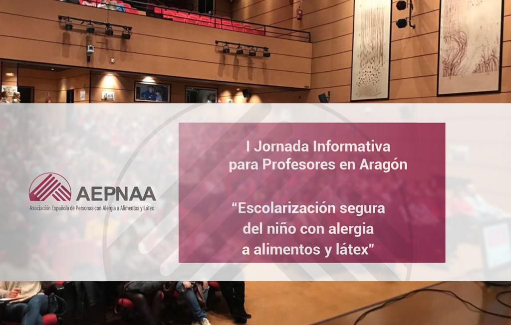 I Jornada informativa para Profesores en Aragón