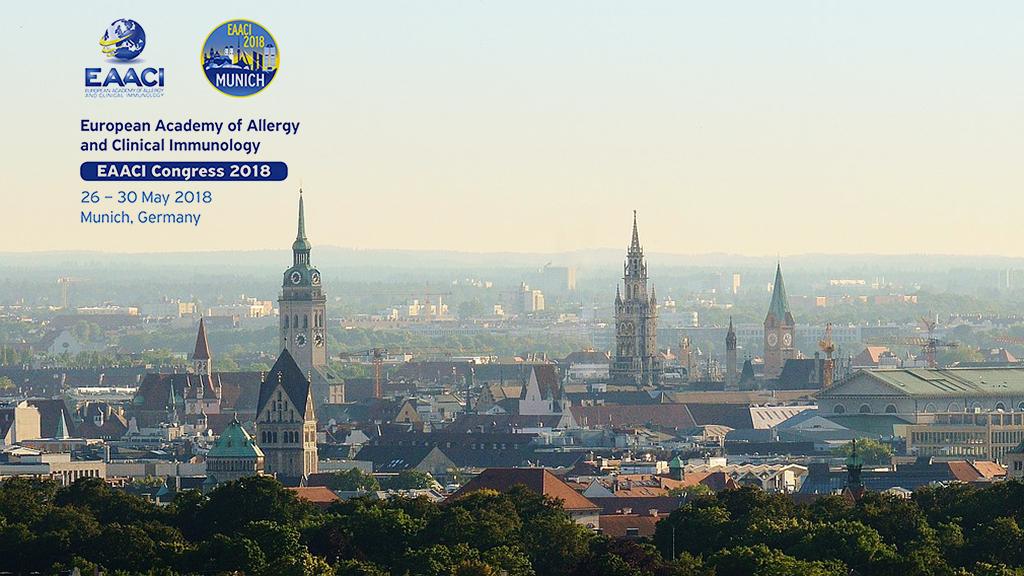AEPNAA asiste al congreso anual de EAACI de 2018 en Múnich