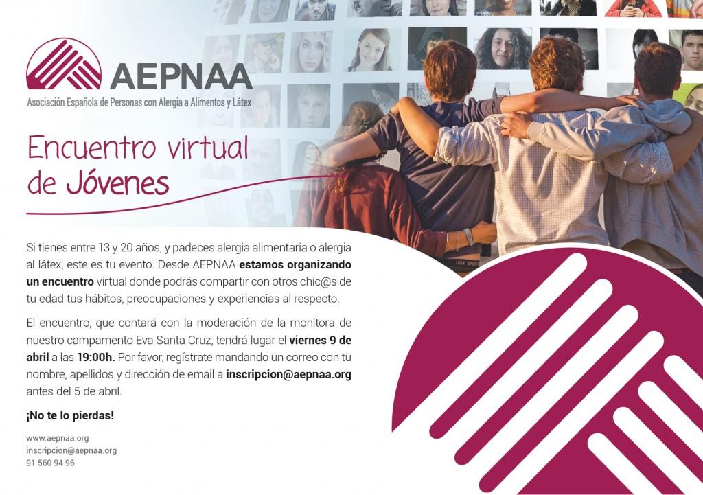 Primer Encuentro Virtual de Jóvenes de AEPNAA