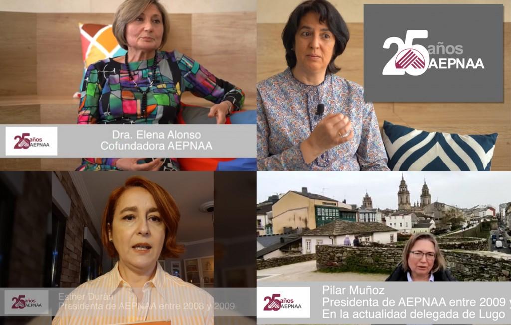 Videos publicados por AEPNAA: 25 aniversario de la asociación