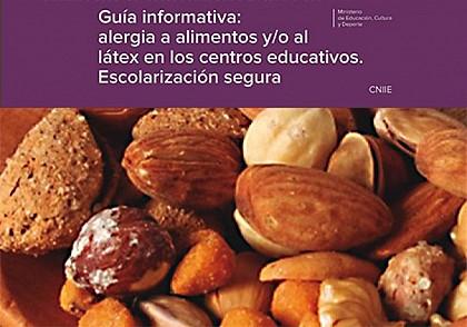 Guía MEC sobre la alergia a alimentos y látex en centros educativos