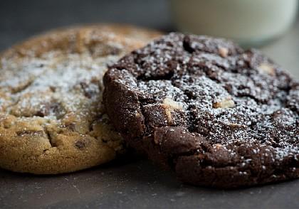 Cookies con chips de chocolate