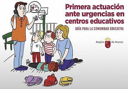 Guía de Urgencias para colegios de Murcia