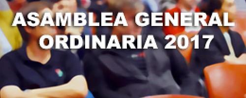 Asamblea General Ordinaria 2017