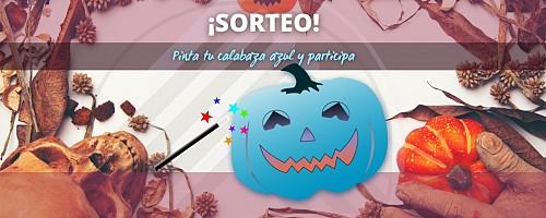 Sorteo Halloween: Calabaza azul 2021