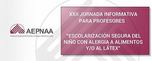 XXII Jornada informativa para Profesores