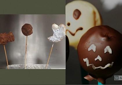 Cake pops terroríficos para Halloween