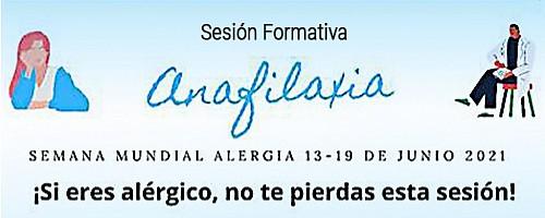 Sesión on line sobre la anafilaxia