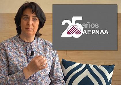 25º Aniversario AEPNAA- Entrevista a Carmen León
