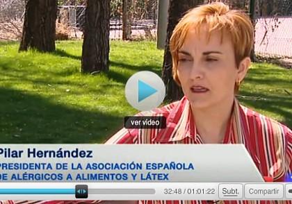 Semana Mundial Alergia 2014 Telediario TVE