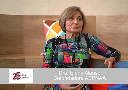 Doctora Elena Alonso 25 Aniversario de AEPNAA